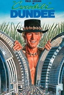 Poster for Crocodile Dundee (1986)