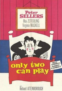 Poster for Only Two Can Play (1962)