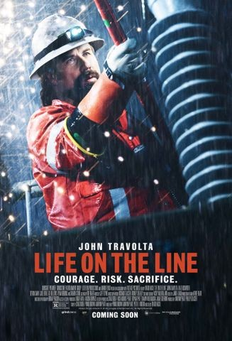 Poster for Life on the Line (2015)