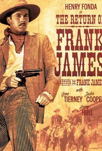 Poster for The Return of Frank James (1940)