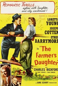 Poster for The Farmer's Daughter (1947)