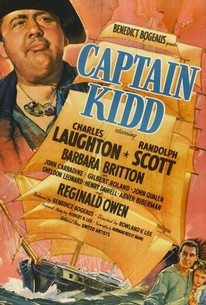 Poster for Captain Kidd (1945)