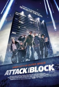 Poster for Attack the Block (2011)